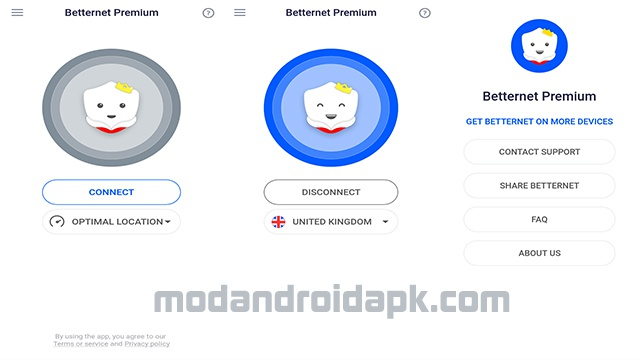 Download Betternet Premium Apk for Android