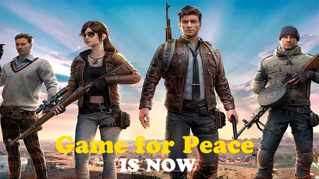 Download Game for Peace APK OBB for Android