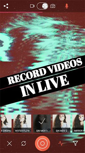 Download Glitch Video Effects -VHS Camera Aesthetic Filters Pro for Android
