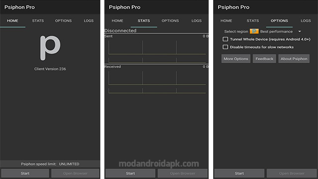Download Psiphon Pro APK 239 MOD [Max Speed/Subscribed] for Android