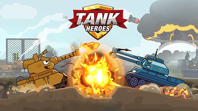 Download Tank Heroes - Tank Games Mod APK v1.8.0 [Free Shopping]
