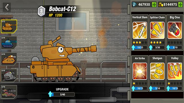 Download Tank Heroes - Tank Games Mod APK v1 7 1 [Free Shopping]