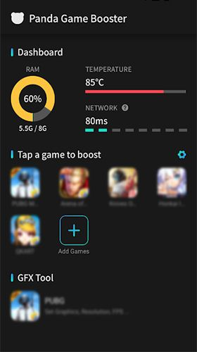Download Panda Game Booster & GFX Tool for Battleground APK for Android