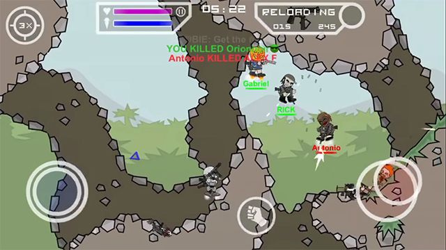 Download Mini Militia - Doodle Army 2 Mod APK v4 3 4 [Pro Pack]