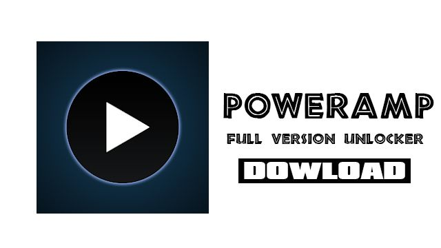 Download Poweramp Full Version Unlocker Apk v3 for Android