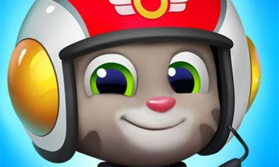 Talking Tom Sky Run Mod Apk for Android