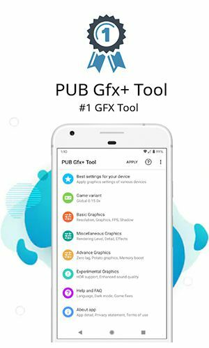 Download PUB Gfx+ Tool for PUBG for Android