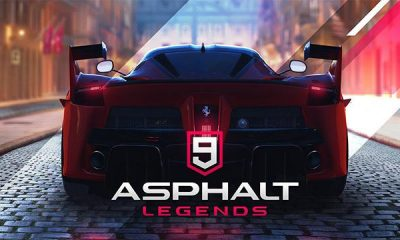 Download Asphalt 9 Legends Mod Apk Data for Android