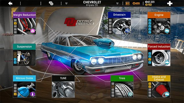 Download Nitro Nation Drag & Drift Mod Apk for Android