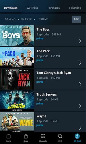 Amazon Prime Video MOD APK Features