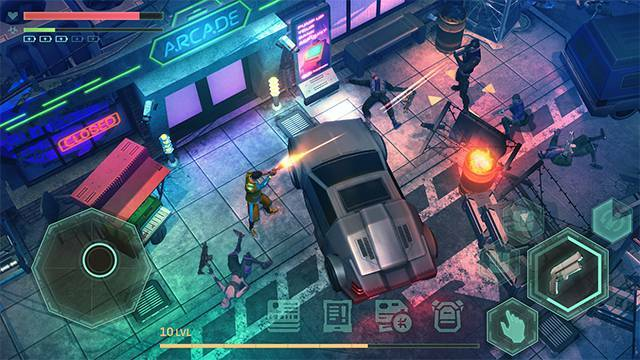 Cyberika: Action Cyberpunk RPG Gameplay